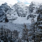 Hiking to a Glacier in Kootenay National Park, British Columbia