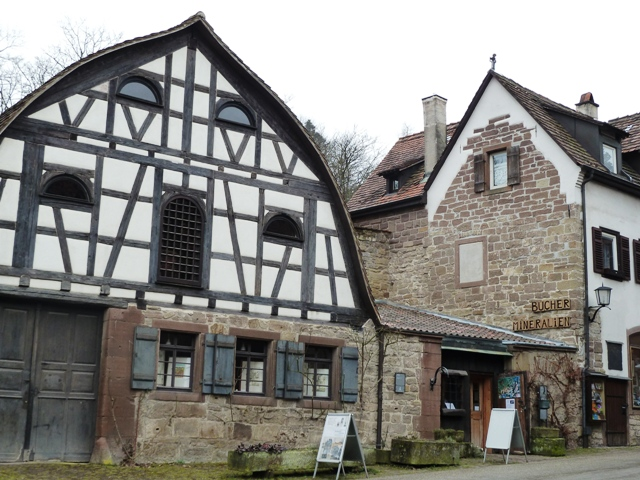 More medieval houses in Maulbronn, Germany