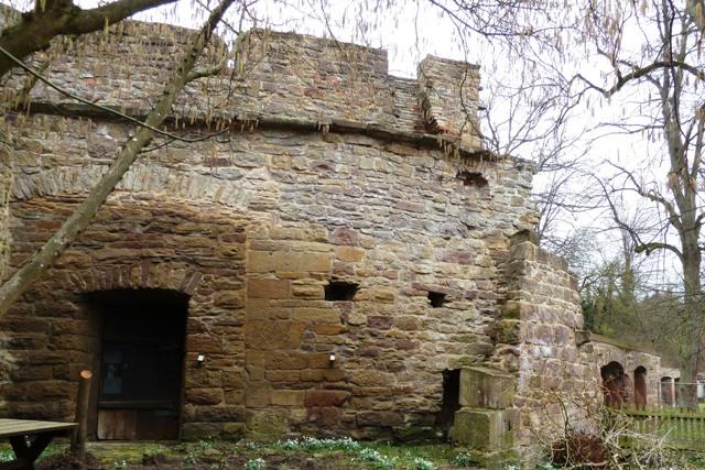 Castle ruin in Maulbronn, Germany