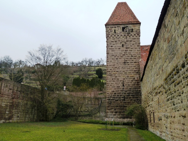 Zwinger and witches tower in Maulbronn, Germany