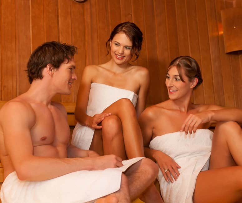 Naked Teens In Sauna