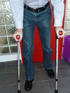 canadian crutches how to use