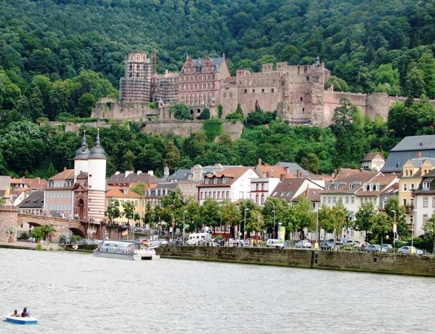 Heidelberg Castle in Baden-Württemberg, Germany