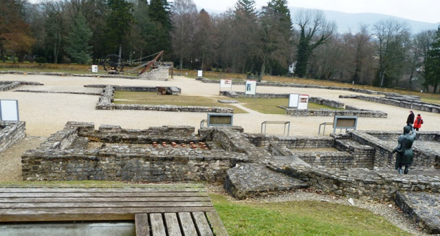 roman limes museum grounds