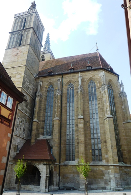rothenburg photos st jacobs church