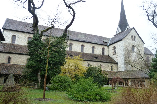 All Saints Cathedral and Cloister in Schaffhausen Switzerland