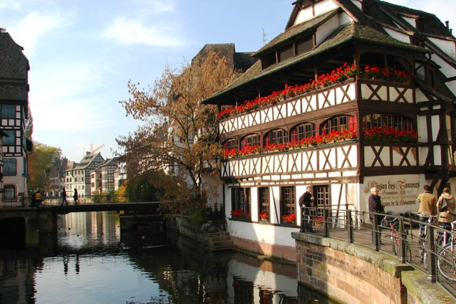 Strasbourg photos in the Petit France Quarter