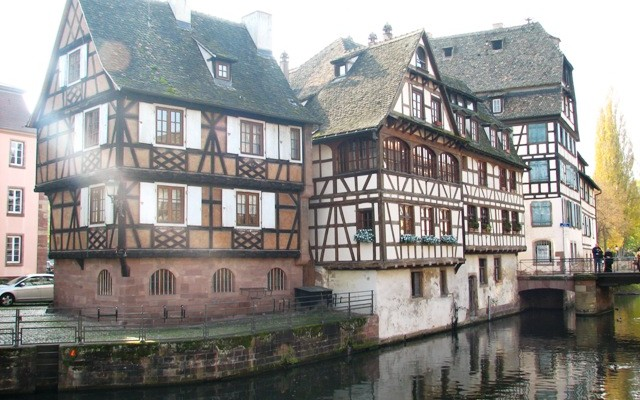 strasbourg photos of the Petit France Quarter