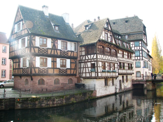 The Petit France Quarter in Strasbourg