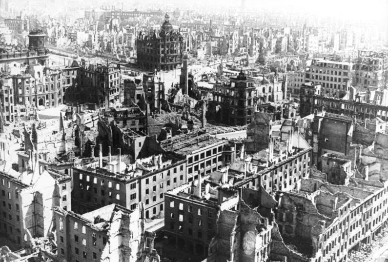 best places to visit in Germany-Dresden, Germany after WWII bombing