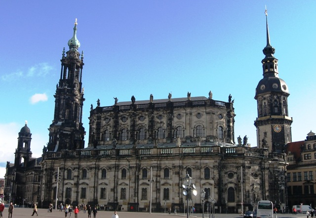 best places to visit in Germany - church in Dresden, Germany