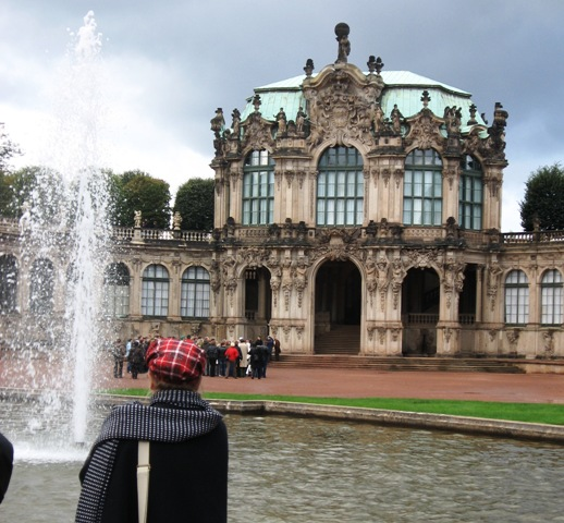 Zwinger in the historic city center