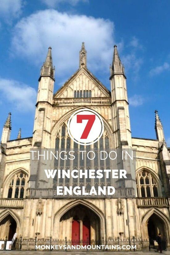 top 7 things to do in Winchester, England