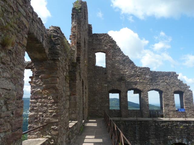Castle ruinsin Baden-baden, Germany