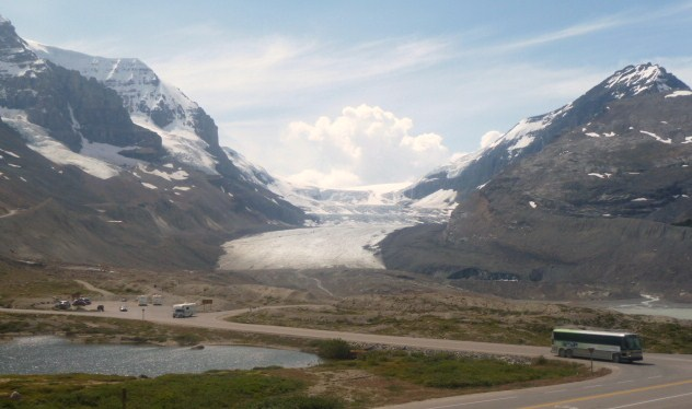 Athabasca Glacier and Columbia Icefields