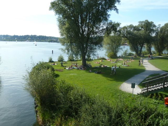 overlooking the starnberger see