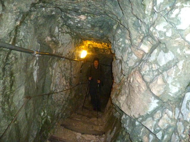 One of the many tunnels that leads visitors along the gorge.