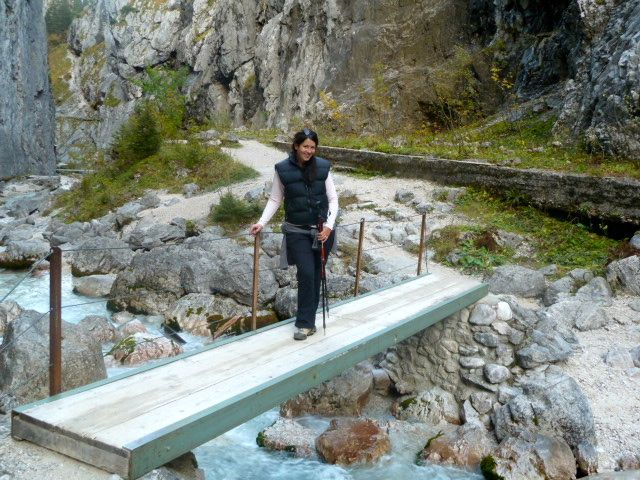 Me posing in Hell Valley Gorge