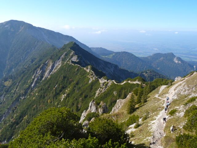 #Hiking the ridge between Herzogstand and Heimgarten was a great day in the Bavarian #Alps.