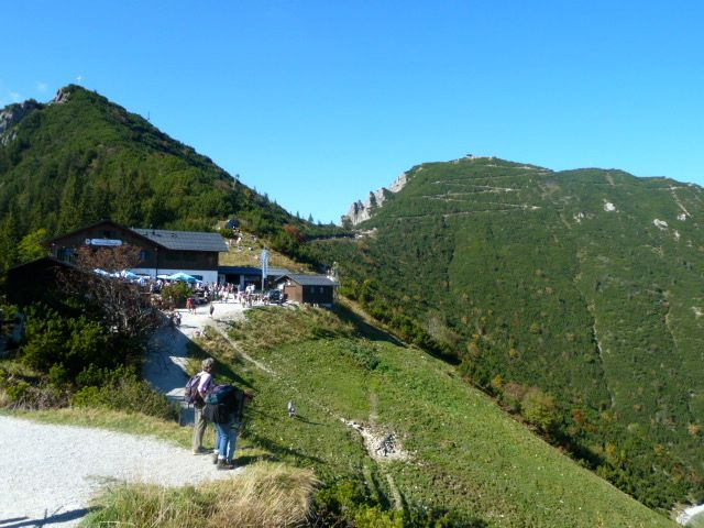 trail to Herzogstand, a mountain favored by Bavarian royalty.