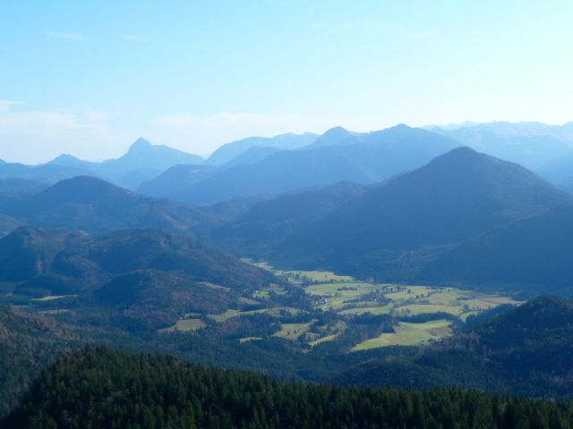 Views of the Bavarian Alps