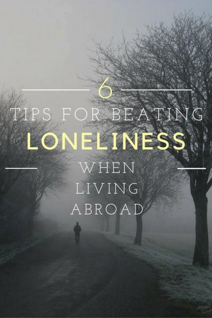 how to beat loneliness when living as an expat