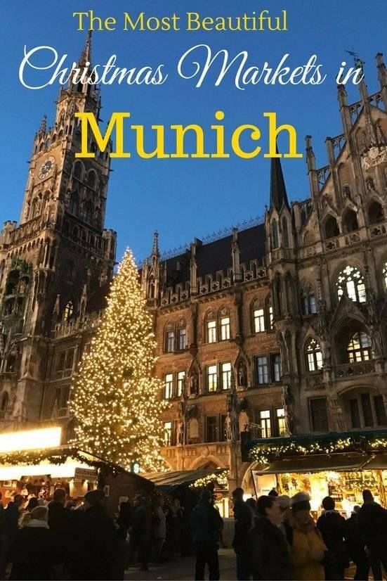 There are a whopping 24 Christmas Markets in Munich, Germany! Here are my top 5 that I recommend visiting to celebrate the holiday season.