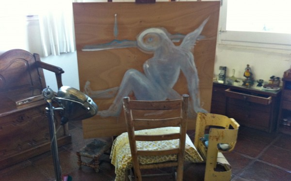 salvador dali home_unfinished work