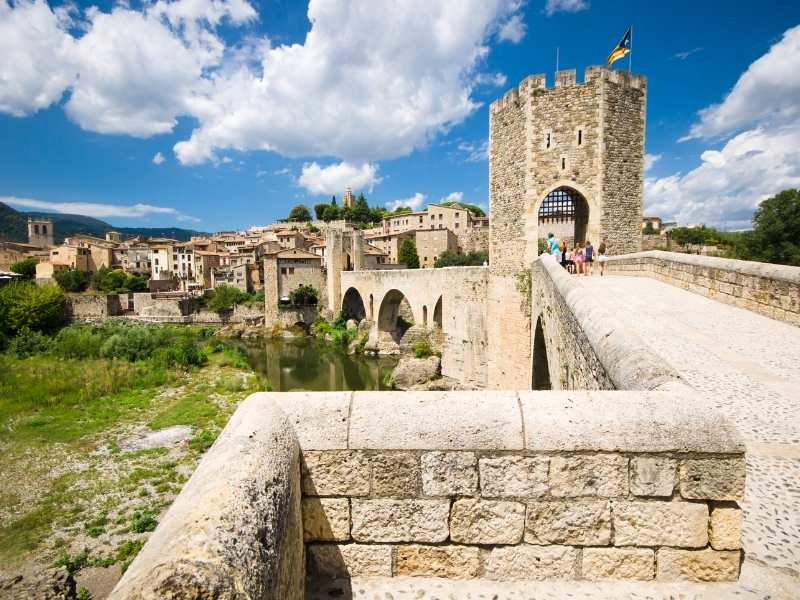 medieval town of Besalu is worth exploring