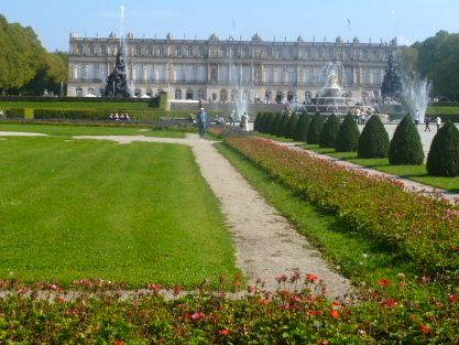 Herrenchiemsee New Palace in Bavaria is the most elaborate castle in Germany I've visited.