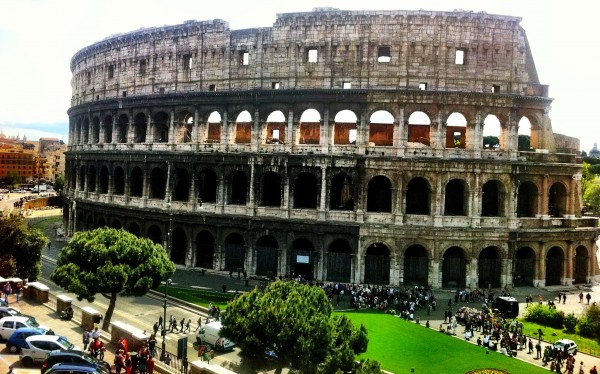 Photo of the Rome Coliseum during the day