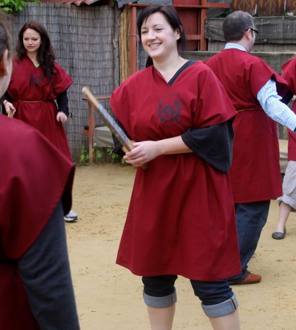 gladiator school rome andrea