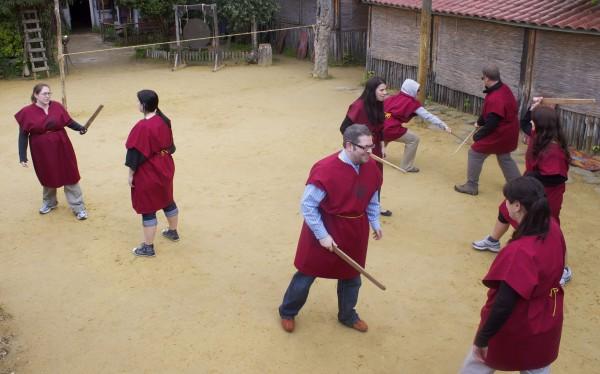 gladiator school rome arena