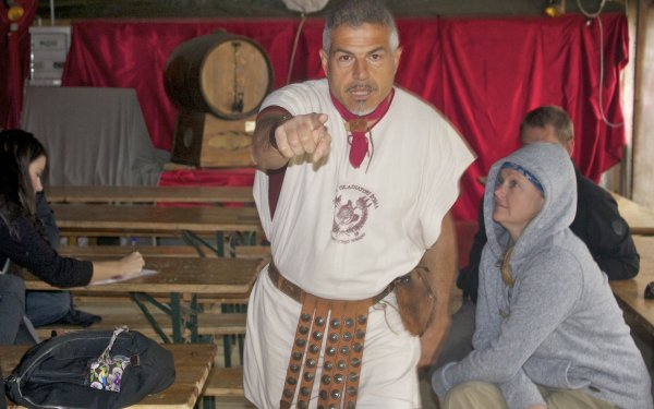 gladiator school rome instructor