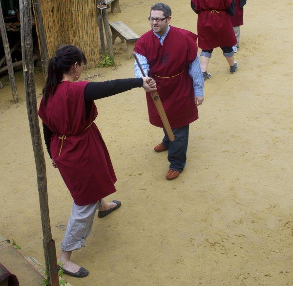gladiator school rome me ryan