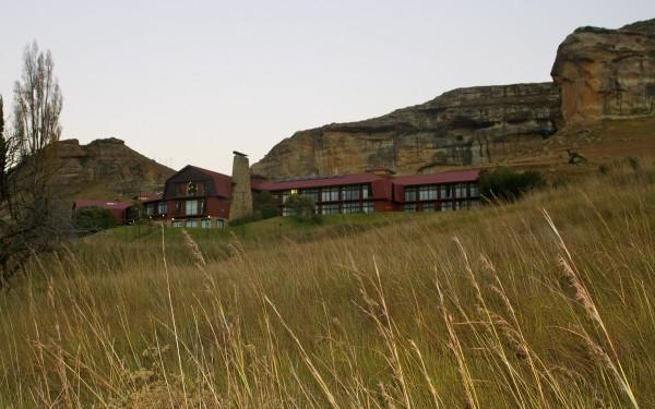 Golden gate hotel, Golden Gate National Park, South Africa