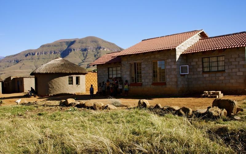 Zulu village, South Africa