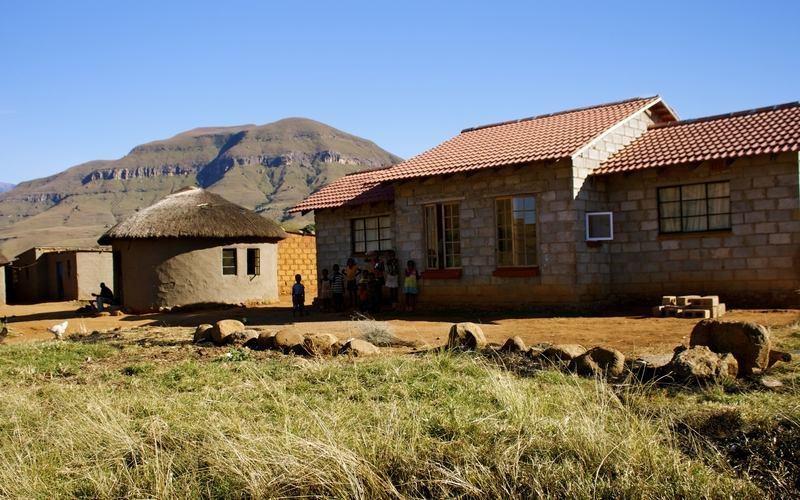 Zulu village, South Africa