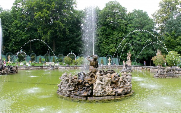 bayreuth eremitage fountains