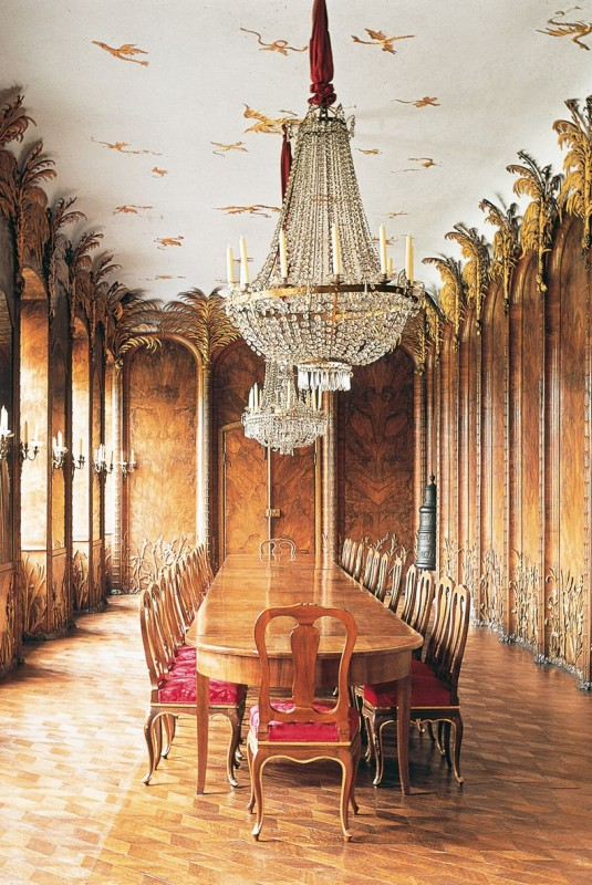 tourist info bayreuth, the palm room in the New Palace