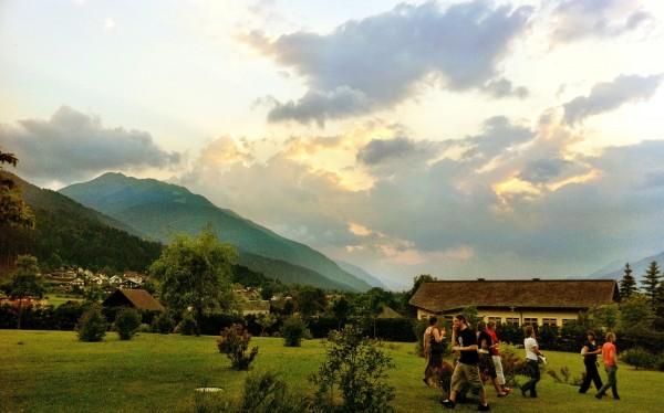 Nassfeld in Kårnten (Carinthia), Austria
