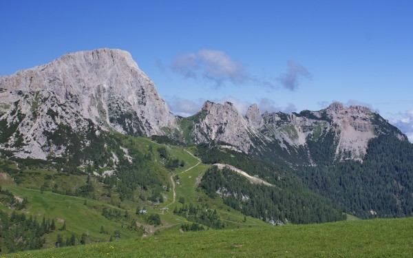 Nassfeld in Kårnten (Cainthia), Austria