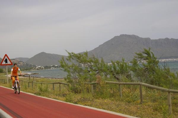 cycling along the east coast