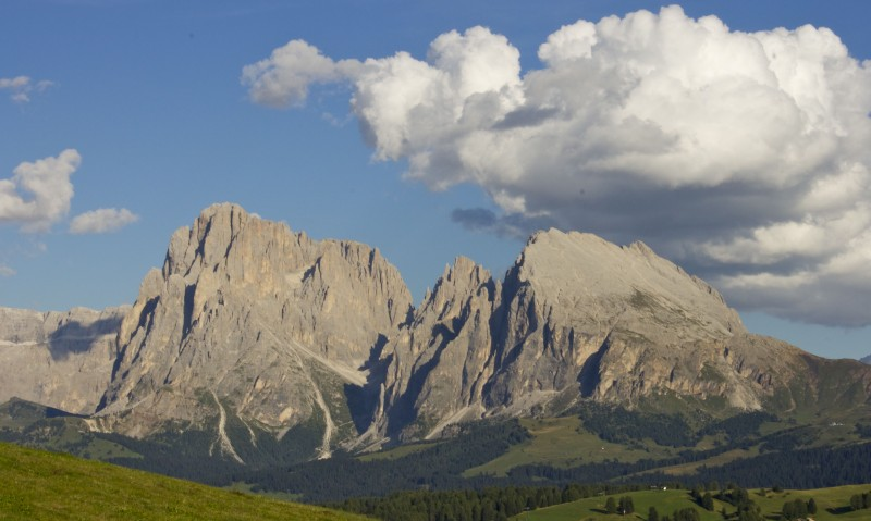 The breathtaking Dolomites