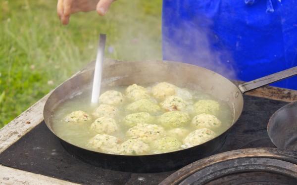 how to make dumplings-Step 5 boil dumplings for ~10 minutes