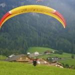Paragliding in Alpe di Siusi (Seiser Alm)