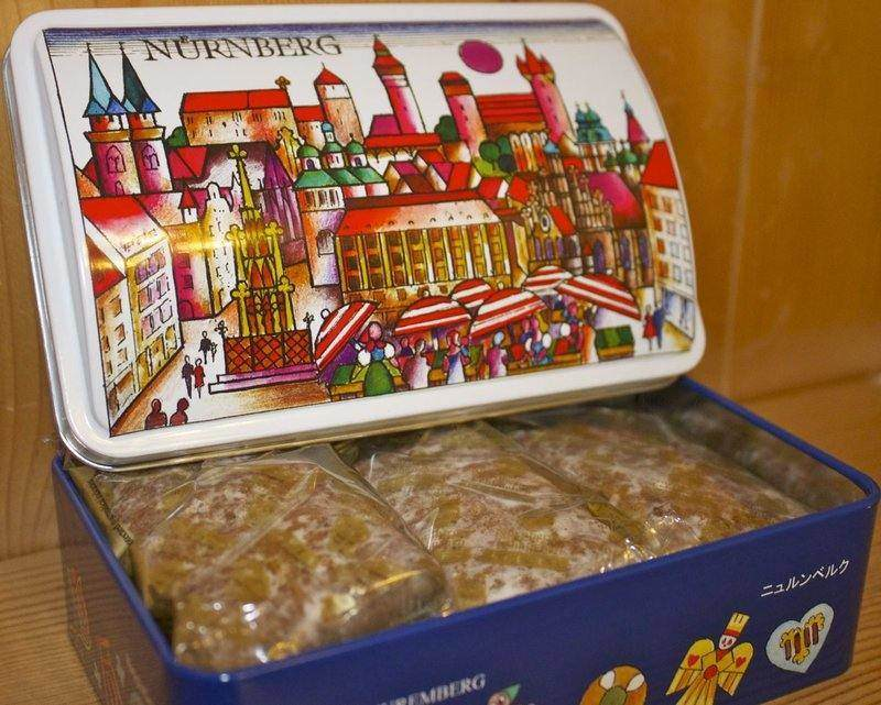 Gingerbread from the Nuremberg Christmas Market