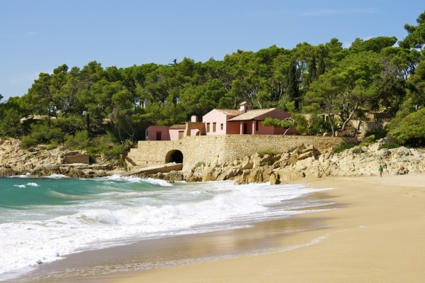 cycling in Costa Brava you will see hidden beaches