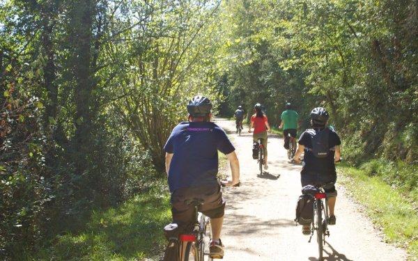 cycling in Costa Brava bike path