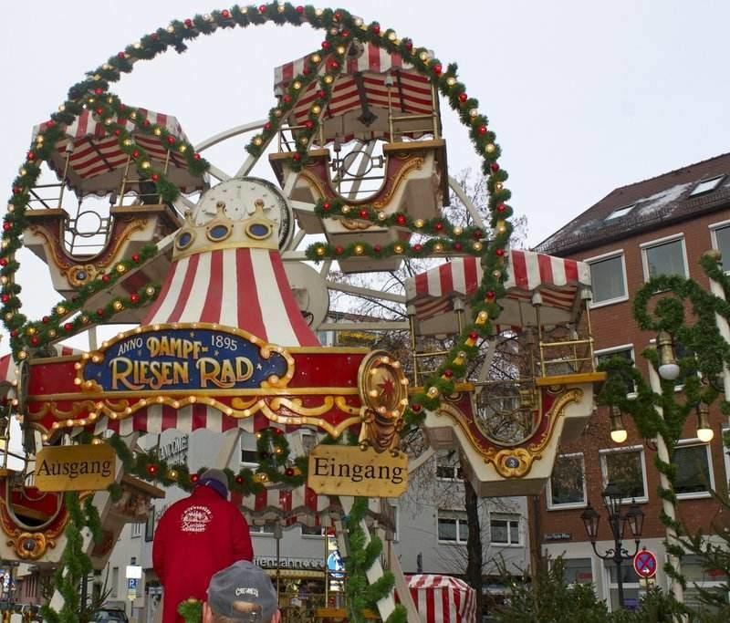 Nuremberg Christmas Market in Bavaria, Germany